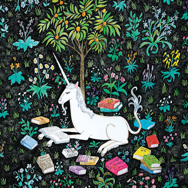 500 Piece Unicorn Reading Jigsaw Puzzle
