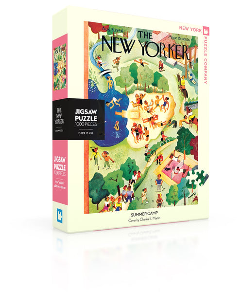 1000 Piece New York Puzzle Company- Summer Camp