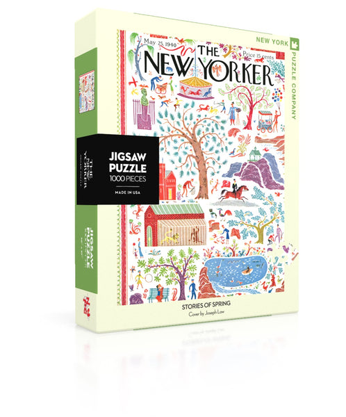 1000 Piece New York Puzzle Company- Stories of Spring