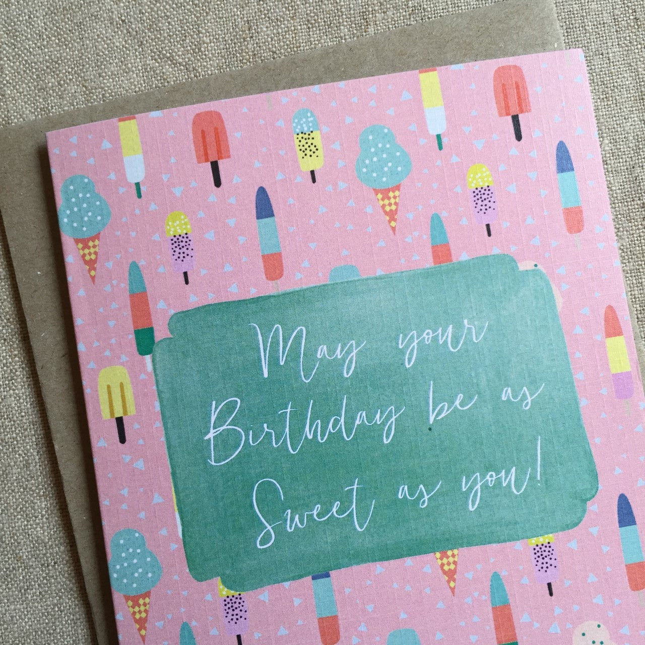 Sweet Birthday Card