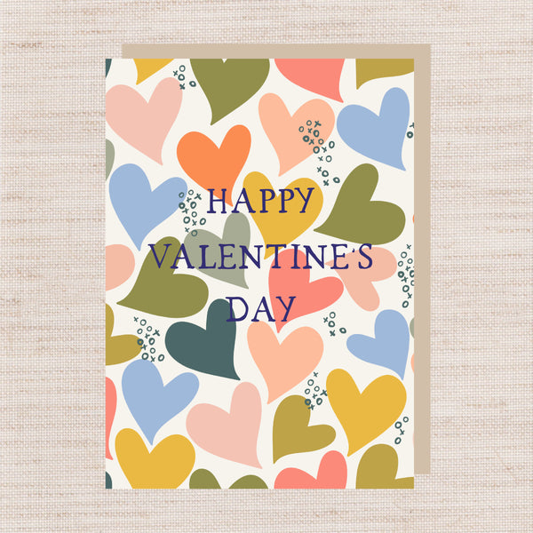 A6 Happy Valentine's Day Card