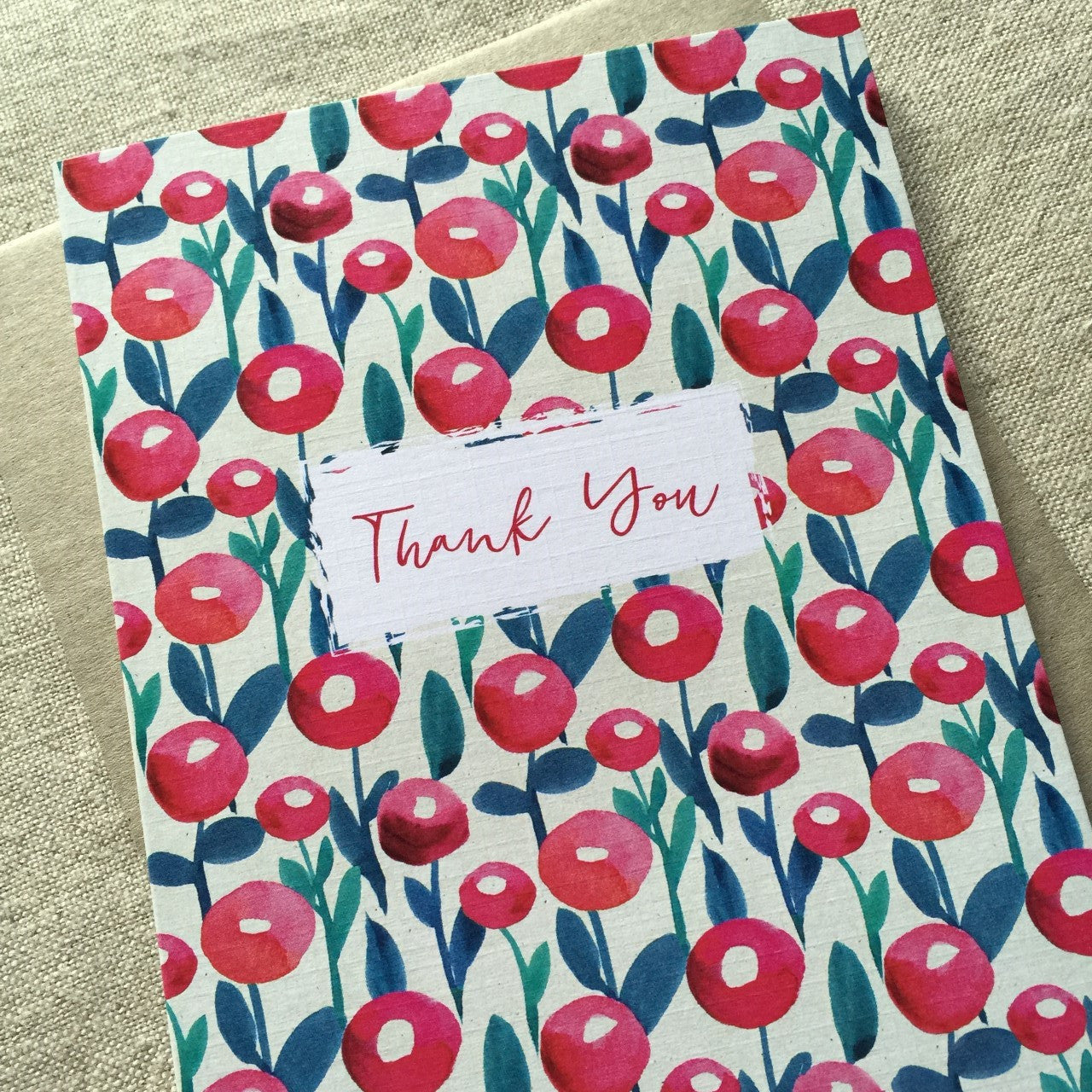 Field Thank You Card
