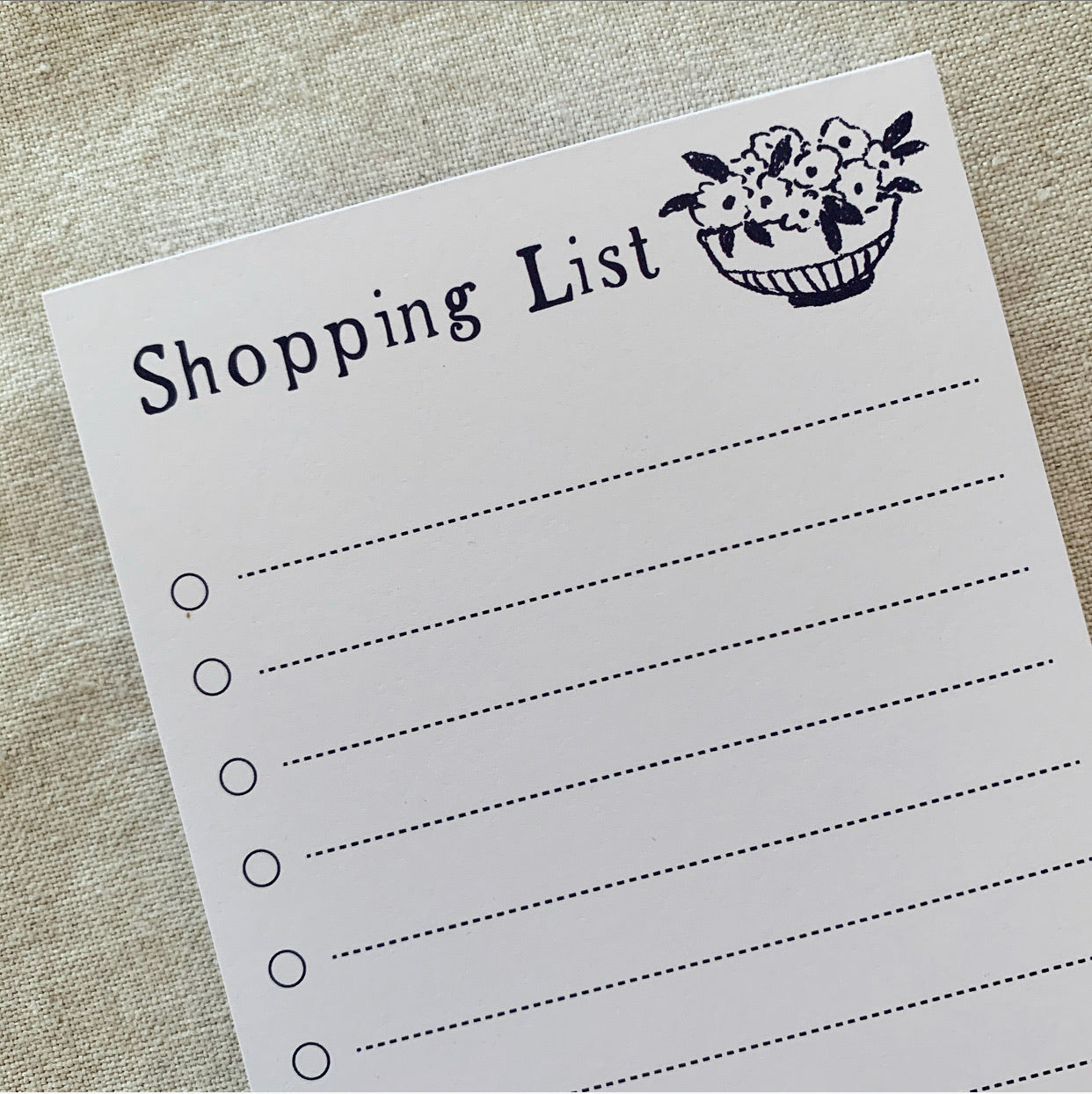 Market 'Shopping List' DL Notepad