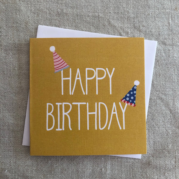 Petit Party Hats Card