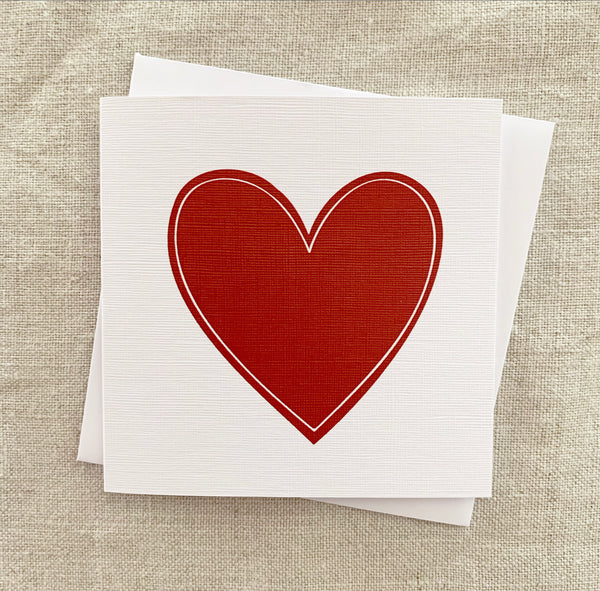 Petit Love Heart Card