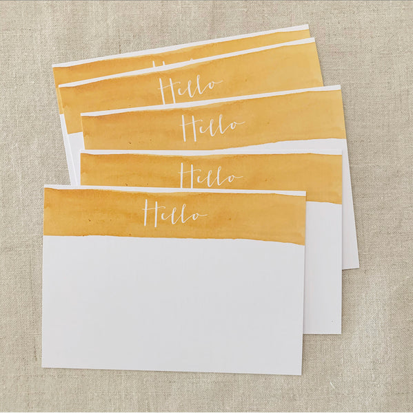 'Hello' Notecard Set
