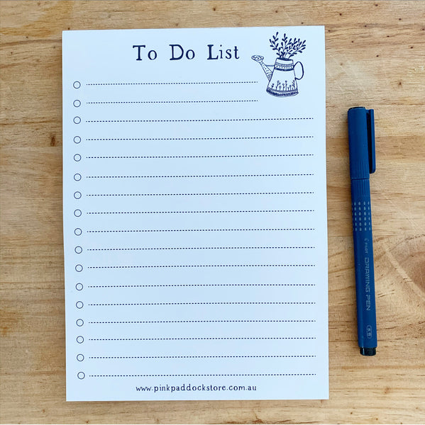Market 'To Do List' A5 Notepad
