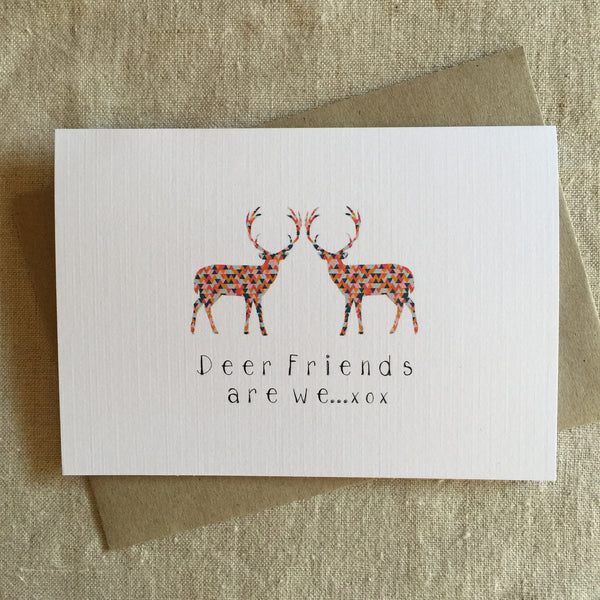 Deer Friends Are We Card