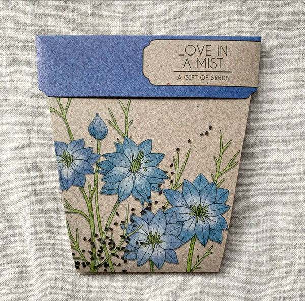 Love in the Mist Seeds Gift Card