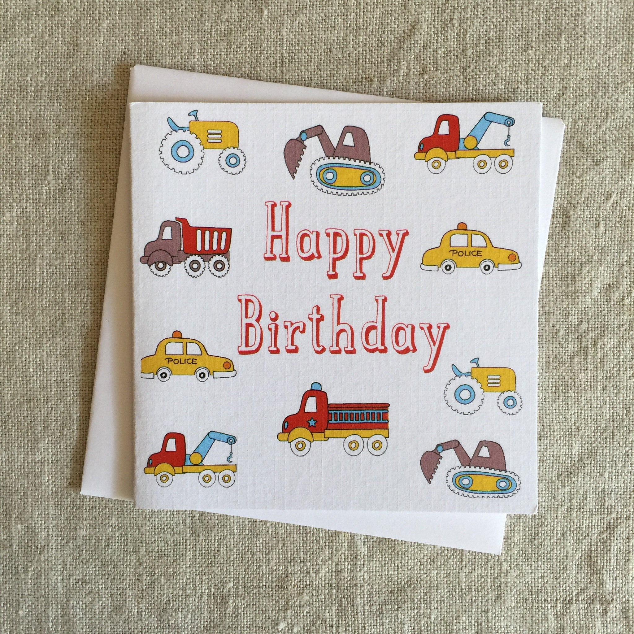 Petit Trucker Card