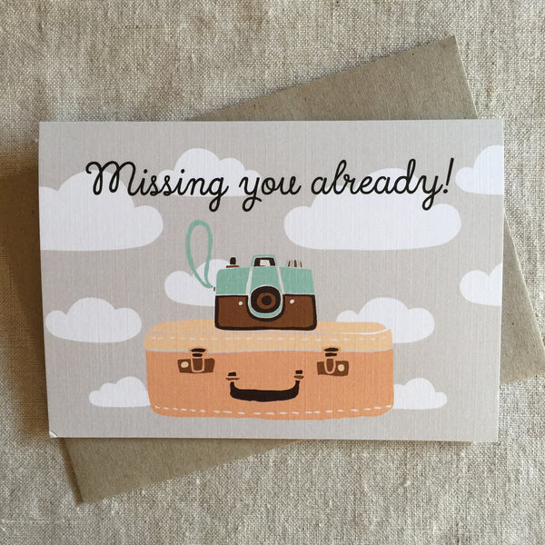 Missing You Already! Card