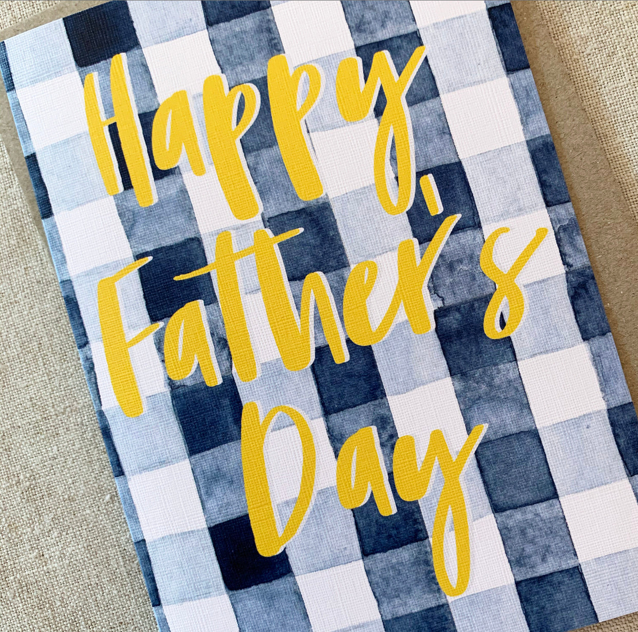 Father's Day Check Card