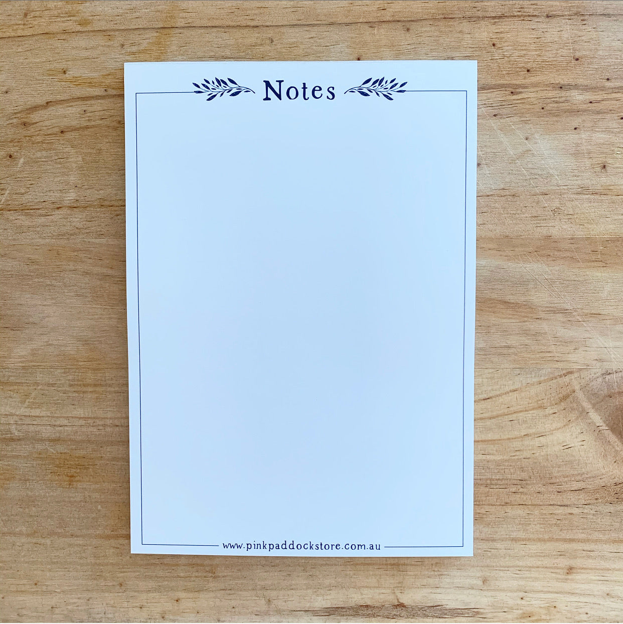 Market 'Notes' A5 Notepad