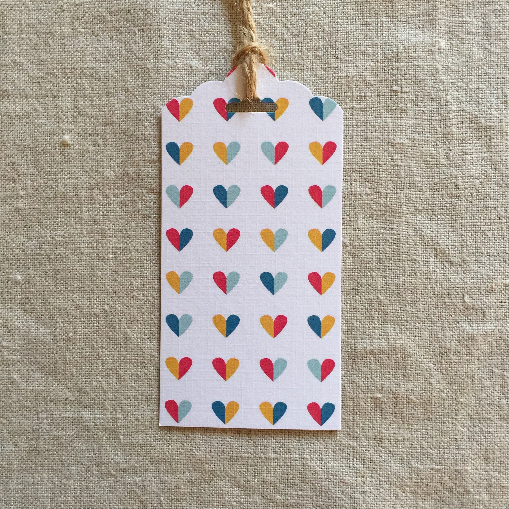 Rainbow Love Gift Tag