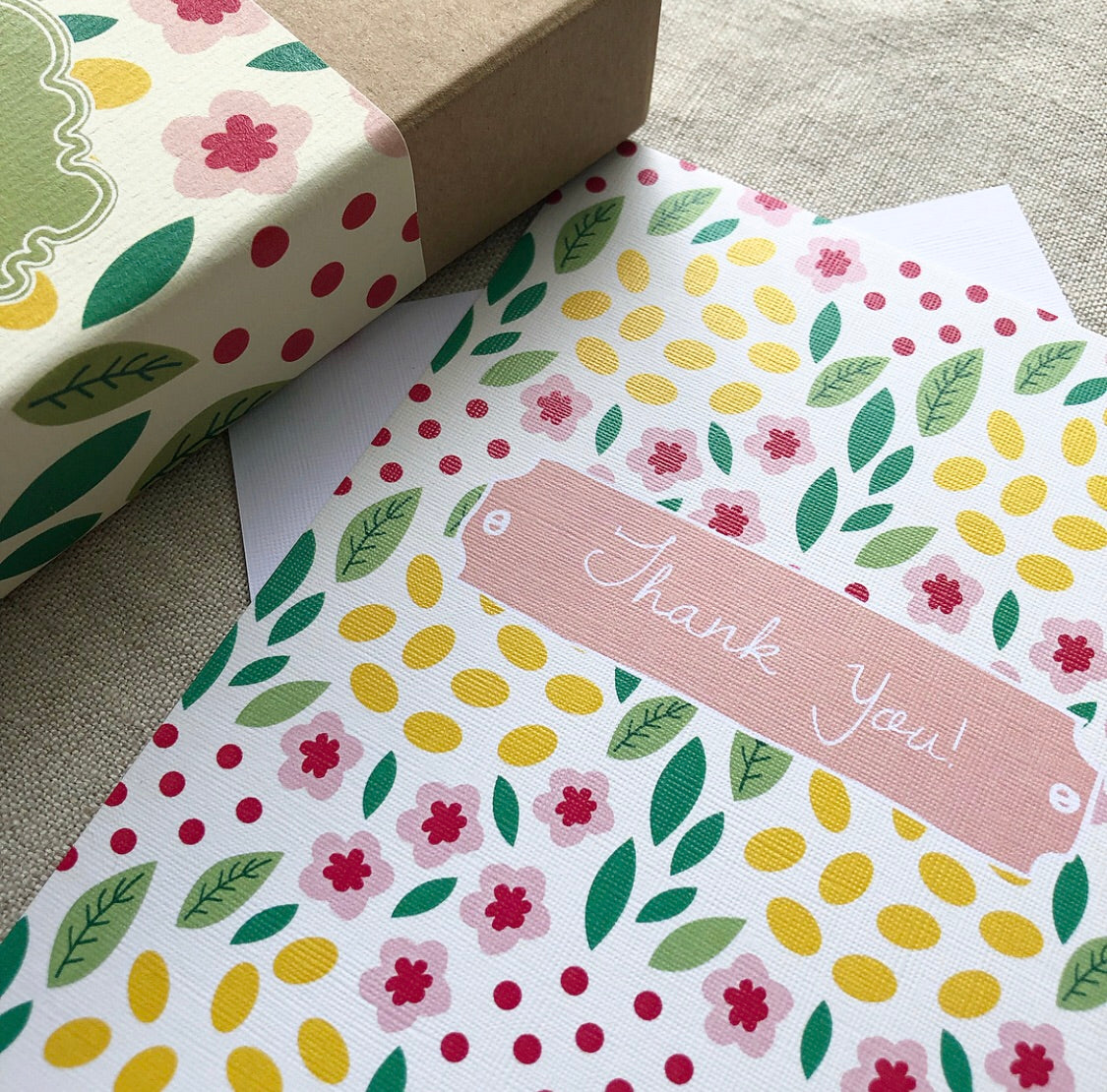 A6 Spring Garden Notecard Box Set