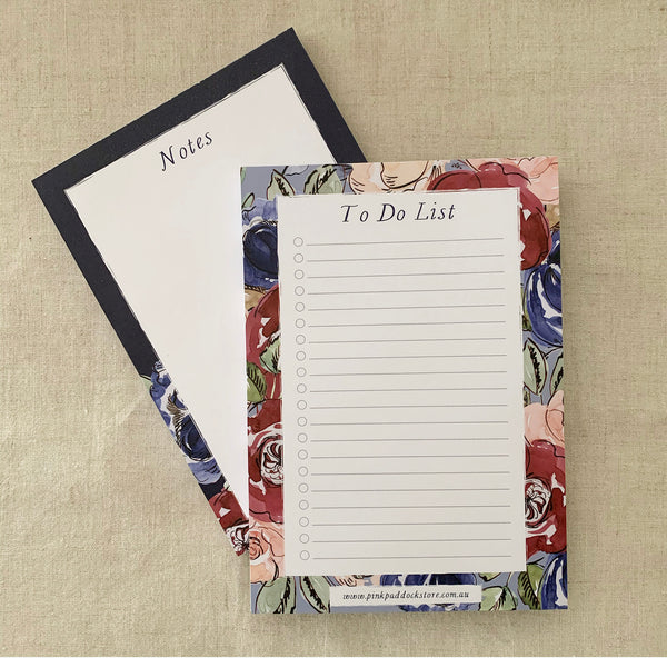 A5 Rose Notepad Bundle