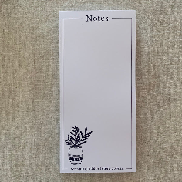 Market 'Notes' DL Notepad