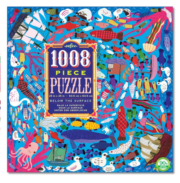1008 Below the Surface Jigsaw Puzzle