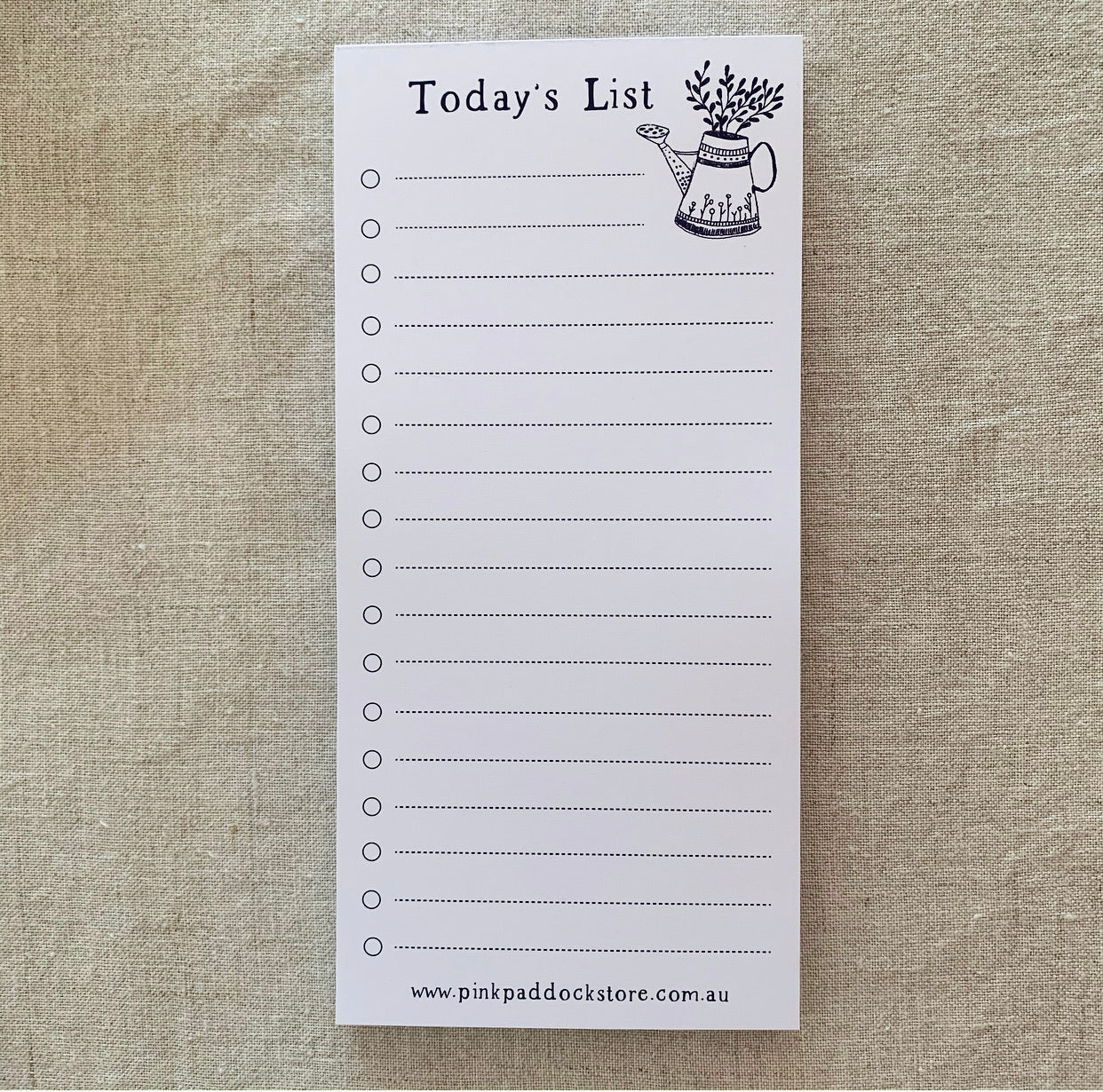 Market 'Today's List' DL Notepad