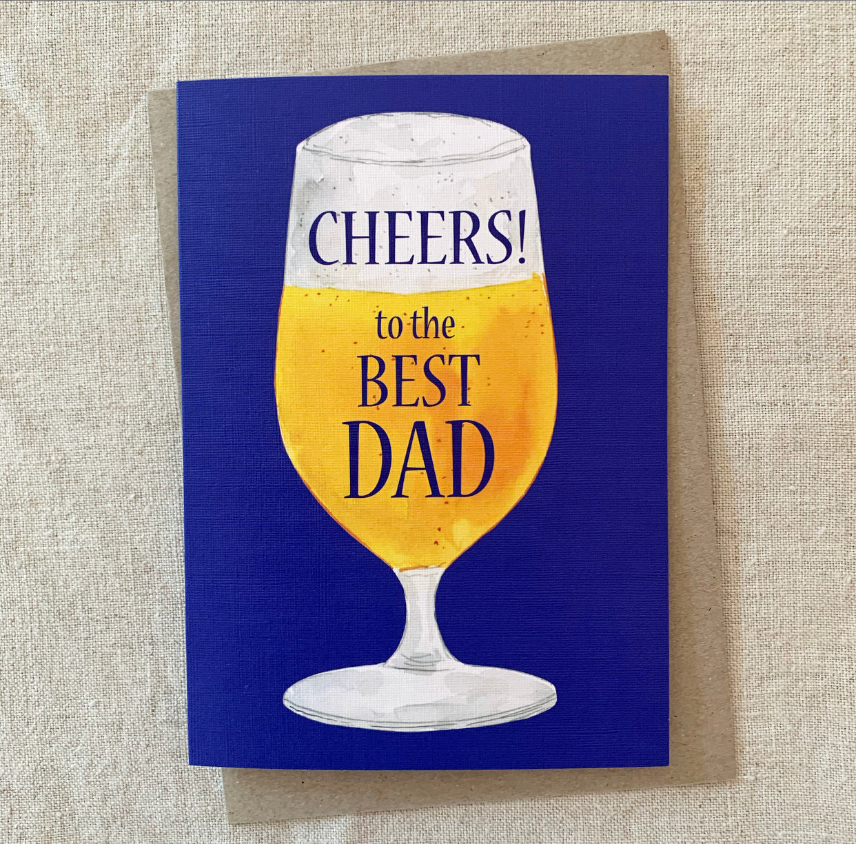 Cheers Dad's Day Card