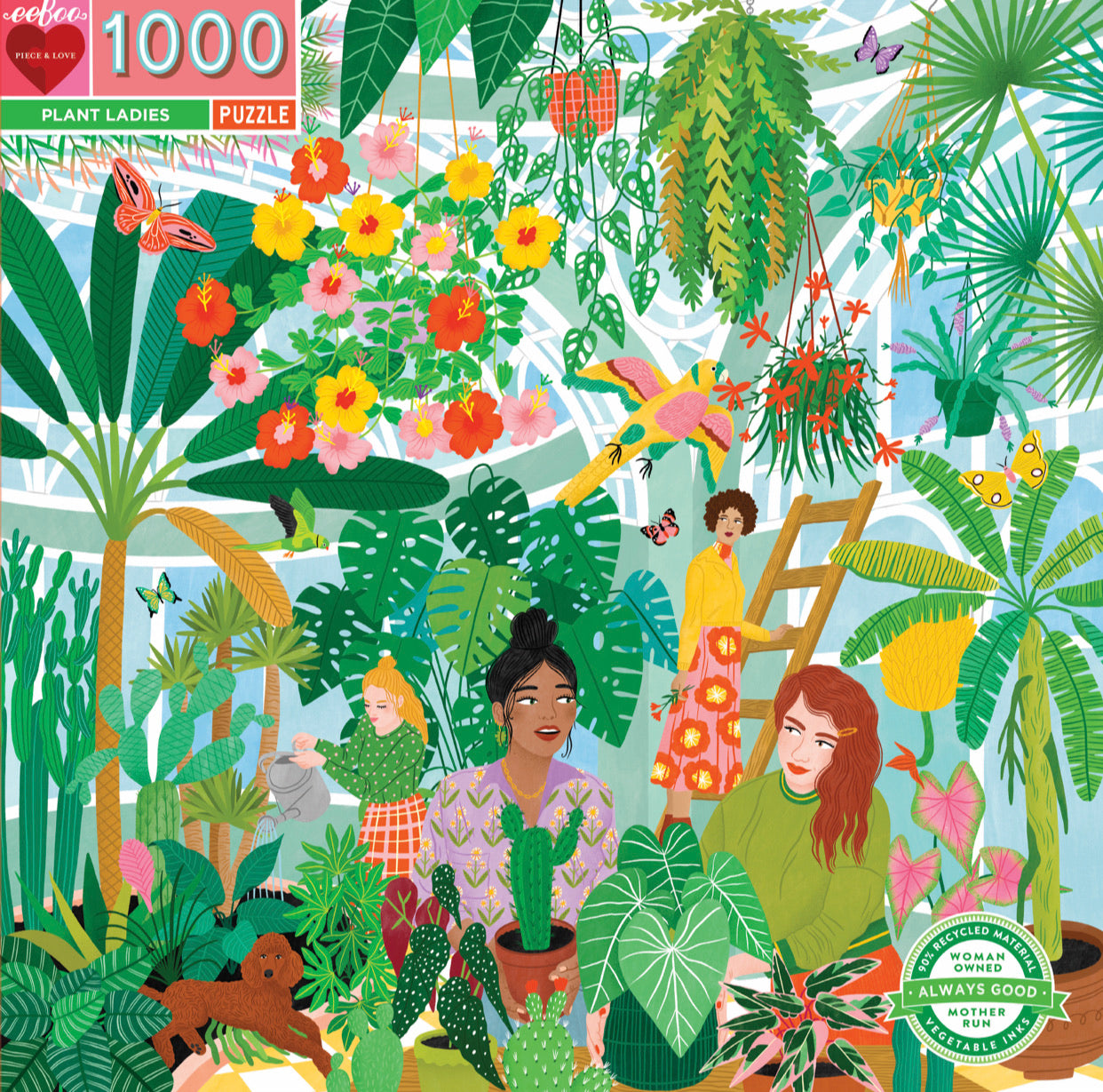 1000 Piece Plant Ladies Puzzle