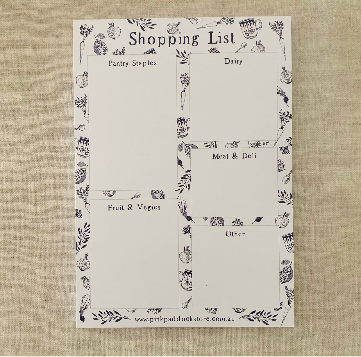 A5 Market Notepad Bundle