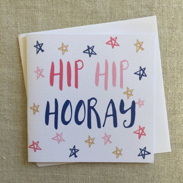 Petit Hip Hip Hooray Star Card