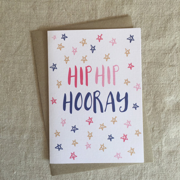 Hip Hip Hooray Star Card