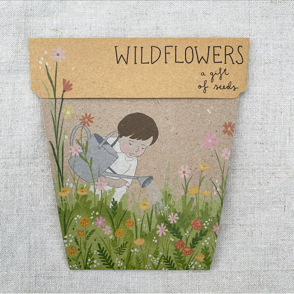 Wildflower Gift of Seeds Gift Card