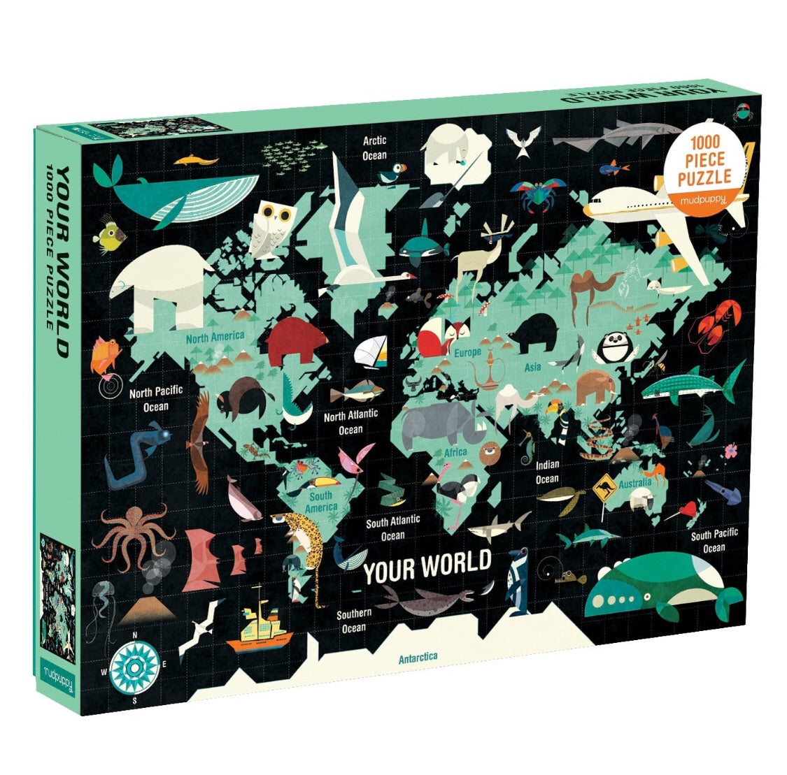 1000 Piece Your World Puzzle