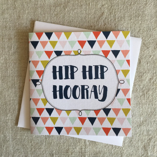 Petit Hip Hip Hooray Card