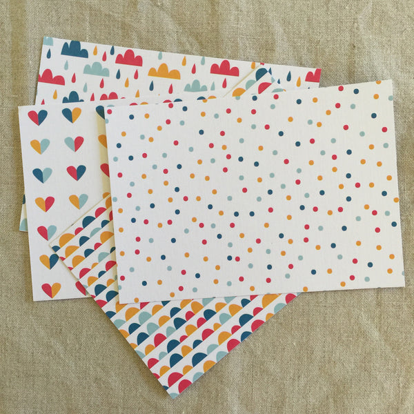 Rainbow Love- Individual Notecards & Envelope