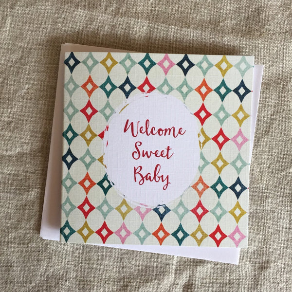Petit Welcome Sweet Baby Card