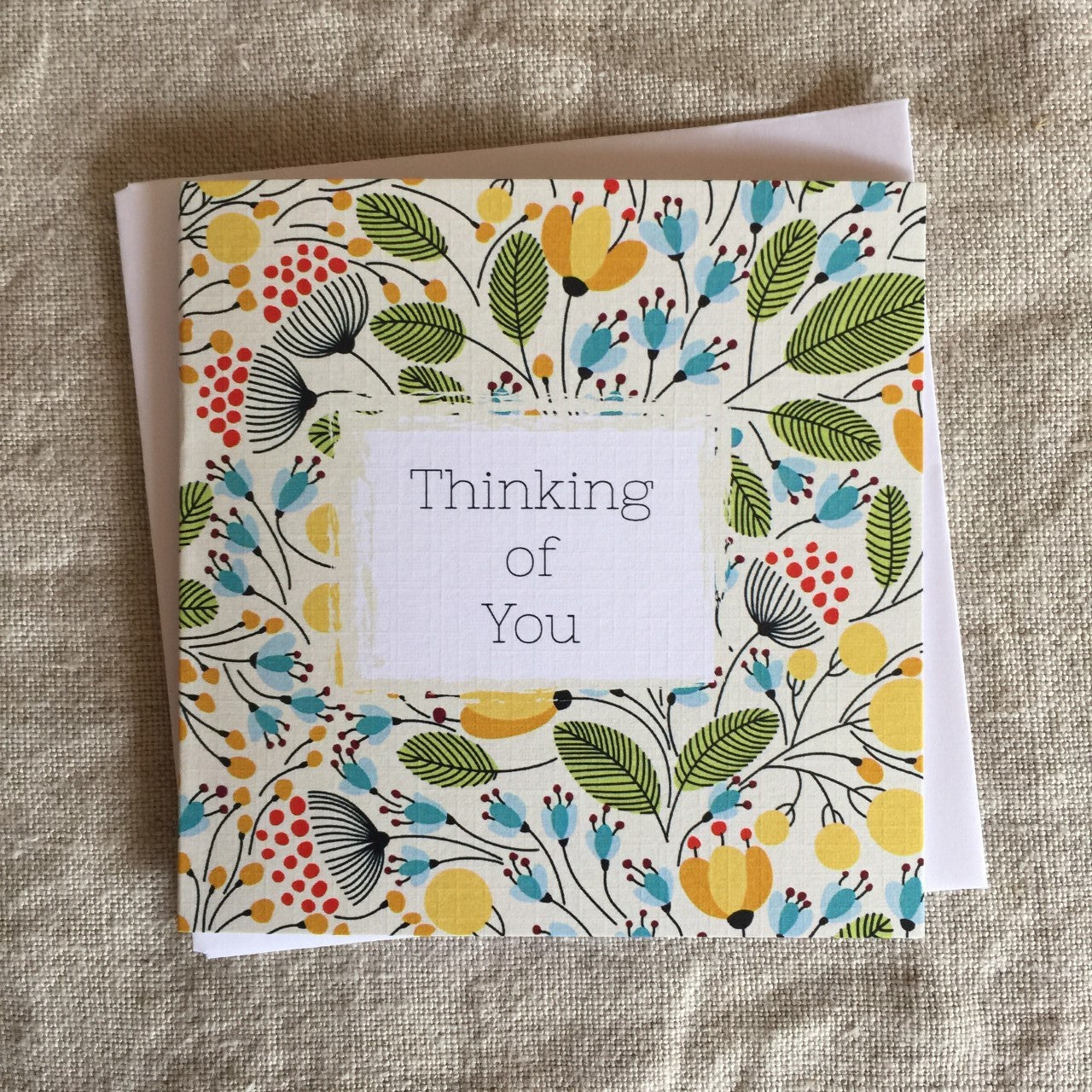 Petit Flowers Thinking of You Card