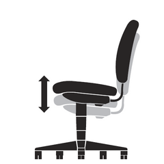 Pneumatic Height Adjustment Chair