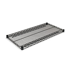 Alera® Extra Wire Shelves, 36w x 18d, Black, 2 Shelves/Carton