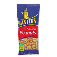 Planters® Salted Peanuts 1.75oz, 12/Box Food-Nuts - Office Ready