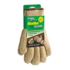 Master Caster® CleanGreen™ Microfiber Dusting Gloves, Pair