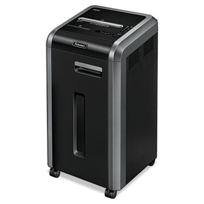 Fellowes® Powershred® 225Ci 100% Jam Proof Cross-Cut Shredder, 22 Sheet Capacity Shredders-Cross-Cut - Office Ready