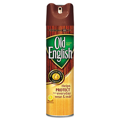 OLD ENGLISH® Furniture Polish 12.5oz Aerosol, 12/Carton Cleaners & Detergents-Wood Polish/Cleaner - Office Ready