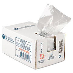 Inteplast Group Food Bags 4 x 2 x 8, 16oz, .68mil, Clear, 1000/Carton