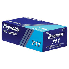 Reynolds Wrap® Interfolded Aluminum Foil Sheets, 9 x 10 3/4, Silver, 3000 Sheet/Carton