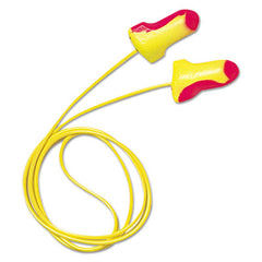 Howard Leight® by Honeywell Laser Lite® Single-Use Earplugs Corded, 32NRR, Magenta/Yellow, 100 Pairs