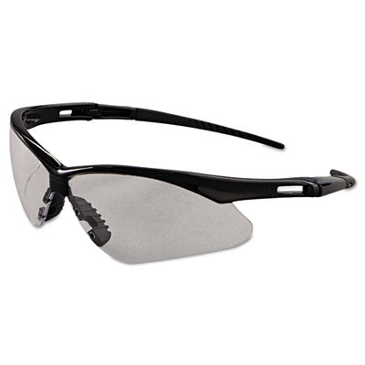 Jackson Safety* Nemesis* Safety Glasses, Black Frame, Clear Anti-Fog Lens Safety Glasses-Wraparound - Office Ready