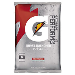 Gatorade® Thirst Quencher Powder Drink Mix Fruit Punch, 51oz Packet, 14/Carton