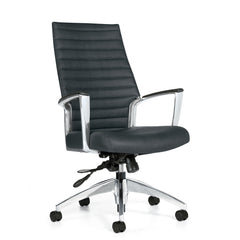 Global Accord 2670-4 High Back Tilter Executive Chair, Allante Free, Ink