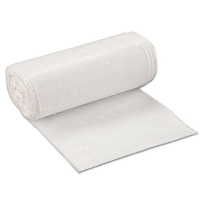 Inteplast Group Low-Density Commercial Can Liners 24 x 32, 16gal, .5mil, White, 50/Roll, 10 Rolls/Carton