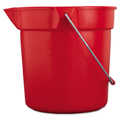 Rubbermaid® Commercial BRUTE® Round Utility Pail 10qt, Red