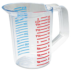 Rubbermaid® Commercial Bouncer® Measuring Cup 16oz, Clear