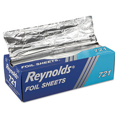 Reynolds Wrap® Interfolded Aluminum Foil Sheets, 12 x 10 3/4, Silver, 500/Box, 6 Boxes/Carton